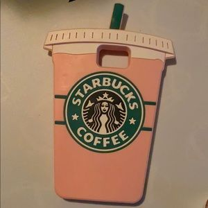 Starbucks pink Samsung note 5 phone case